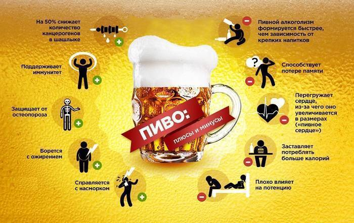 Пивной алкоголизм – причины, симптомы, последствия!