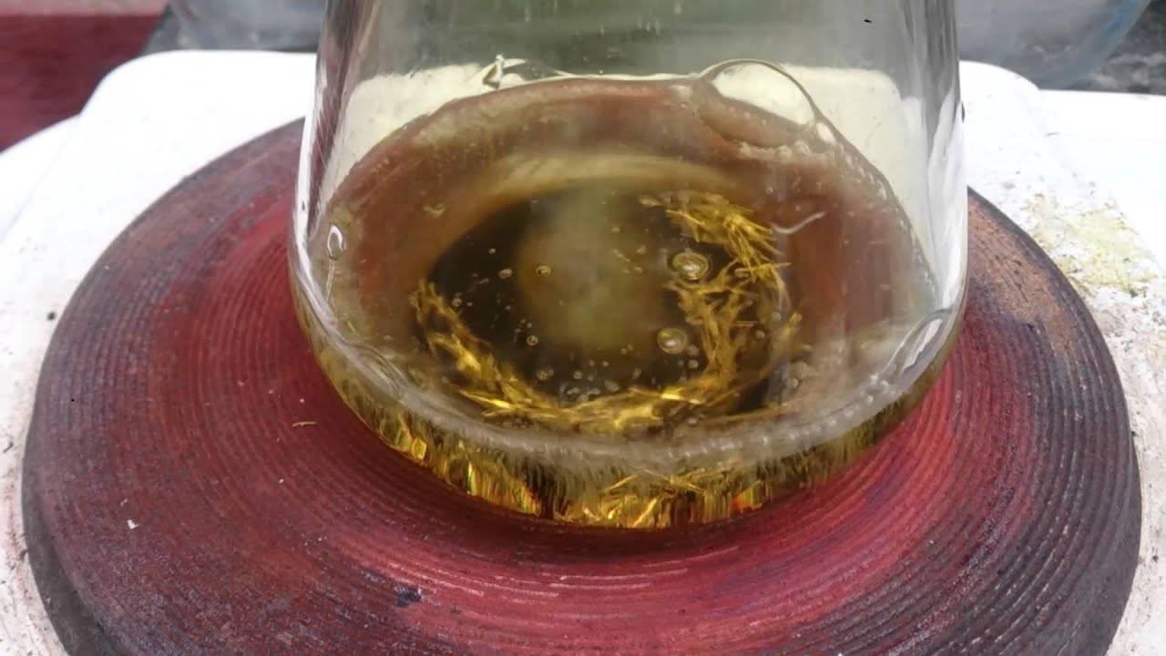 Что такое царская водка для золота. что такое царская водка? состав и свойства царской водки