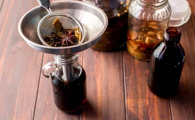 Приготовление и применение настоек лопуха на водке (спирту)