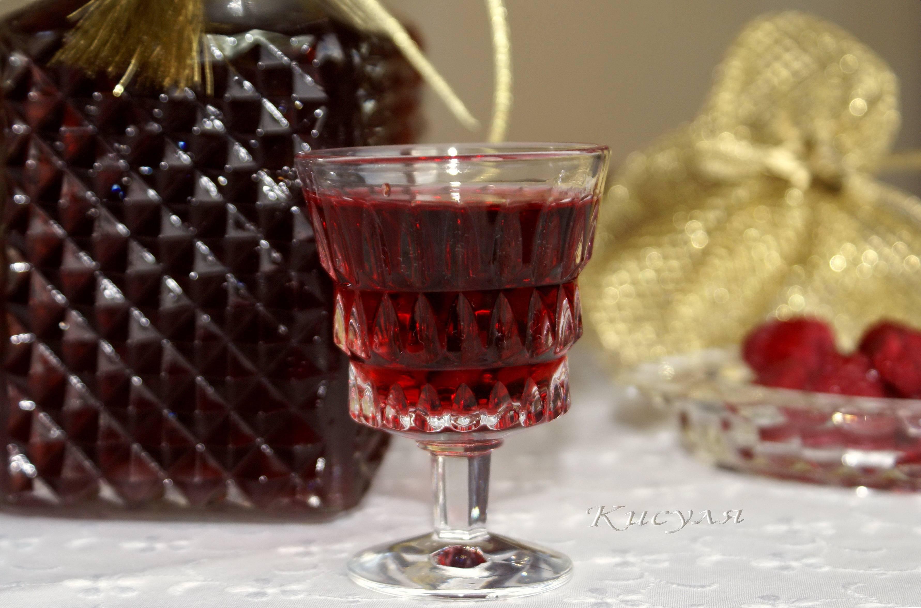 Малиновый ликер в домашних условиях - рецепты с водкой, спиртом, самогоном