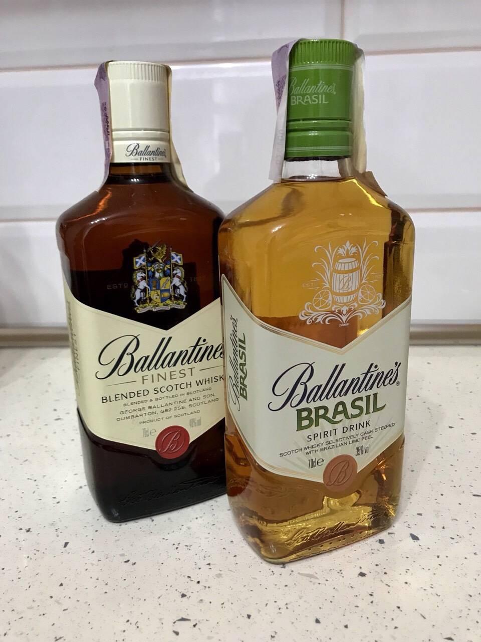 Виски Баллантайнс: отзывы покупателей