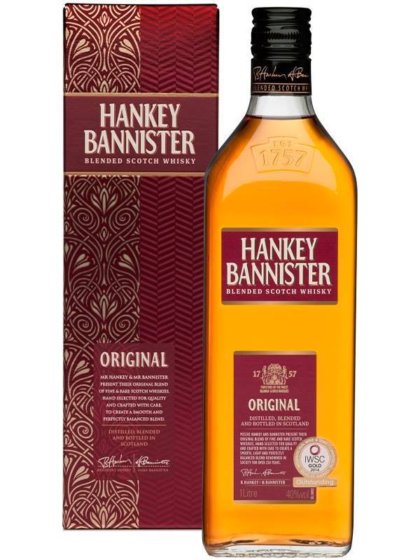 Виски ханки баннистер (hankey bannister): обзор напитка, цена и отзывы покупателей