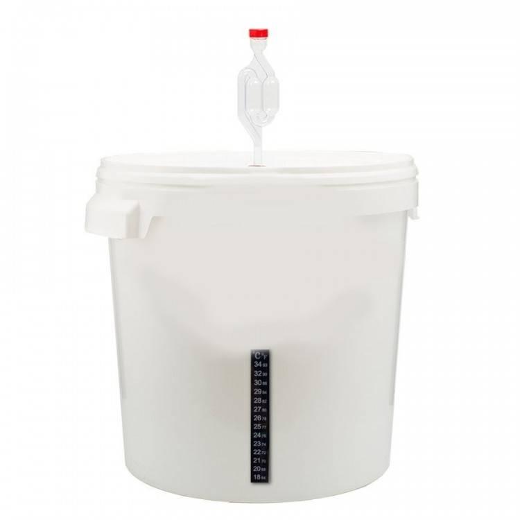 Емкость для браги с гидрозатвором – выбор тары для брожения