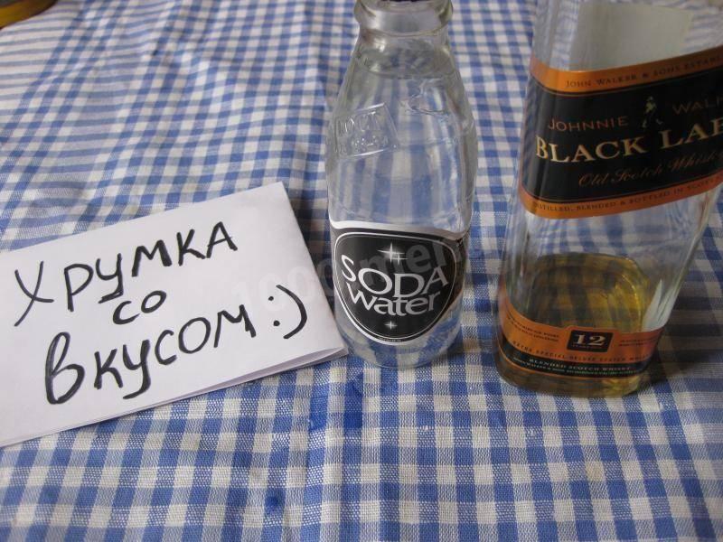 Как приготовить виски с содовой