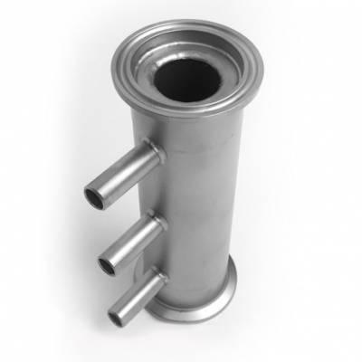 Вертикальный кожухотрубный дефлегматор или холодильник