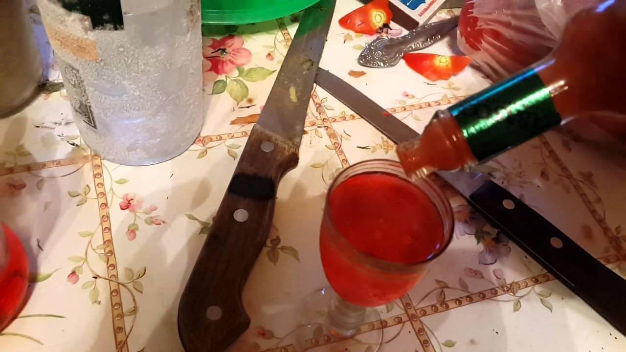 Коктейль боярский - состав и приготовление с табаско, гренадином, соком или ликером