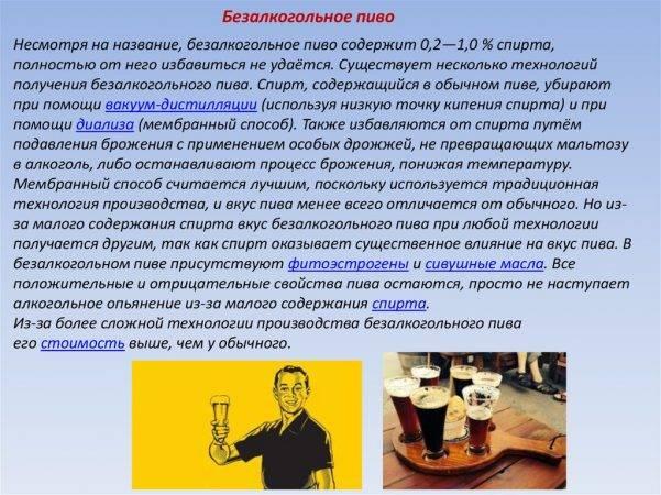 После кодировки можно ли пить безалкогольное пиво