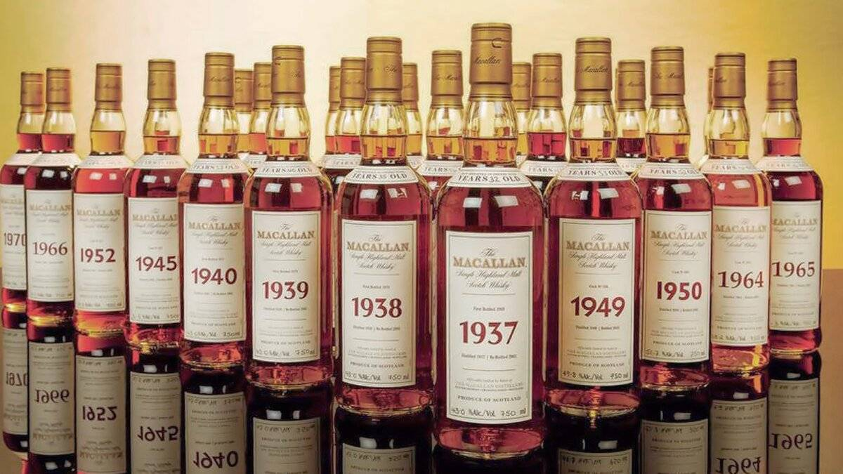 Рейтинг дорогого виски в мире