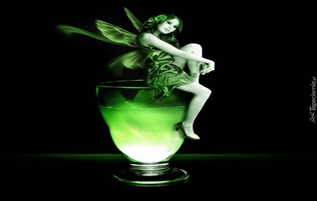 Коктейль «зеленая фея» - мамин советник