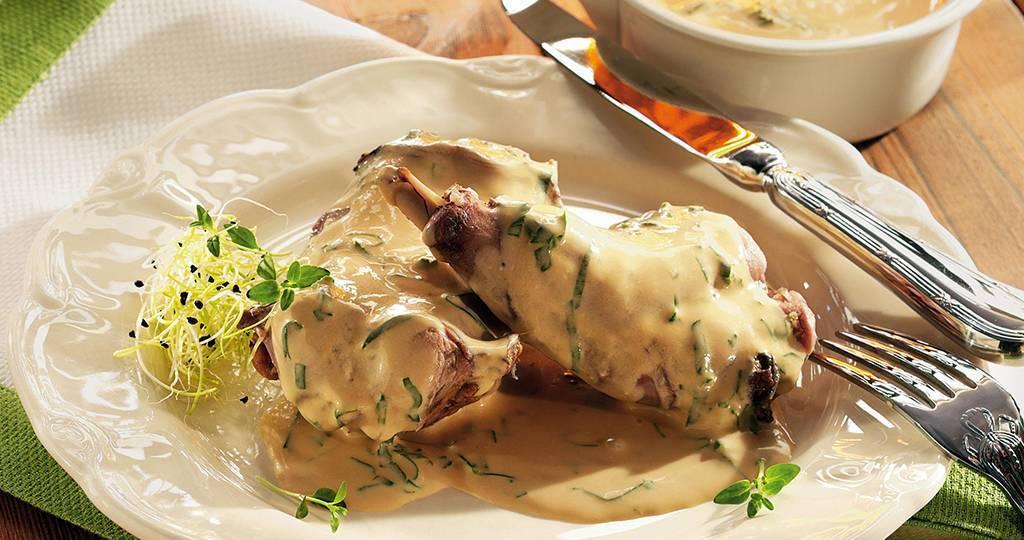 Горячие блюда из кролика, зайца - рецепты