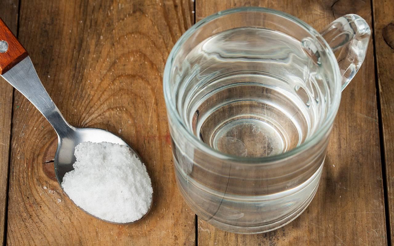 Водка с солью для суставов