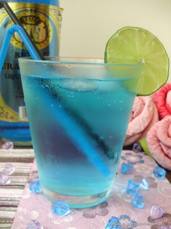 Коктейль безалкогольный голубая лагуна: рецепт приготовления