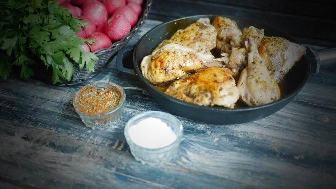 Курица в вине красном или белом - маринад, рецепты приготовления