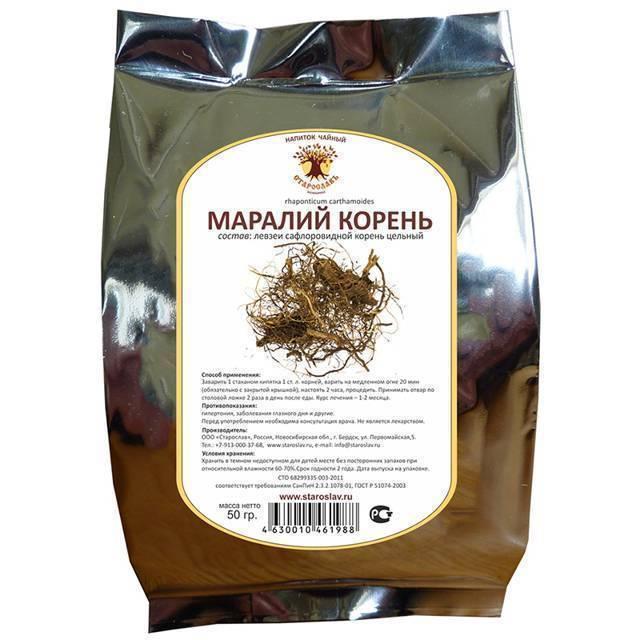 Маралий корень (левзея сафлоровидная): лечебные свойства и противопоказания для мужчин, женщин, состав, как принимать, пить, польза и вред
