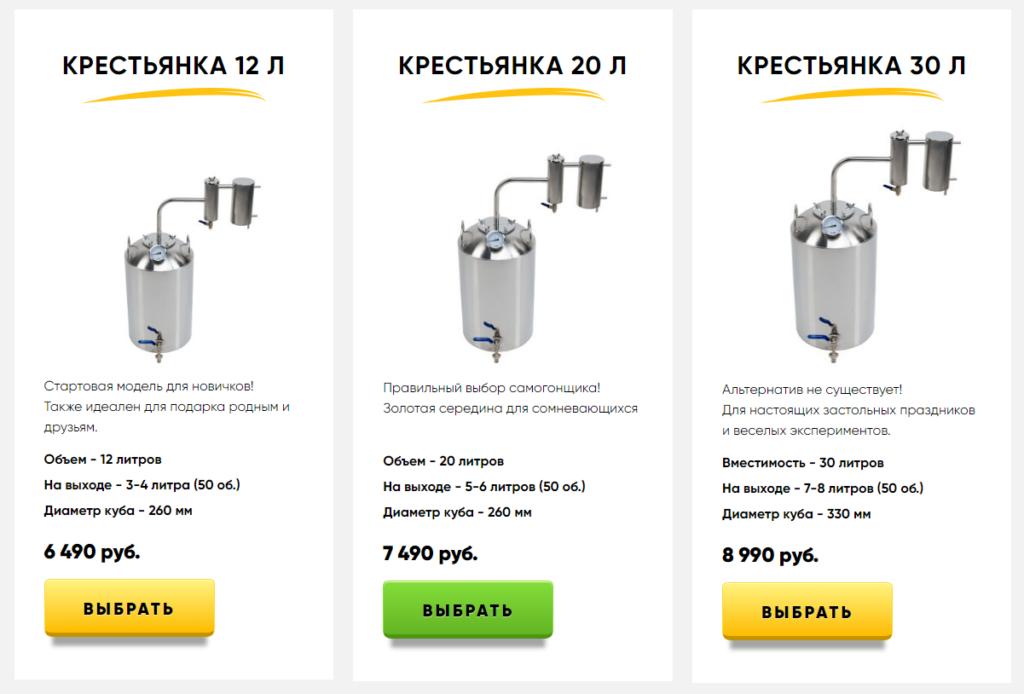 Обзор самогонных аппаратов умелец: отзывы и цены