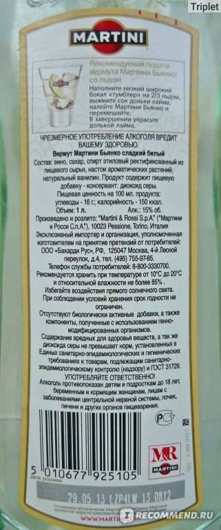 Срок годности мартини асти в закрытом виде. kakhranitedy.ru
