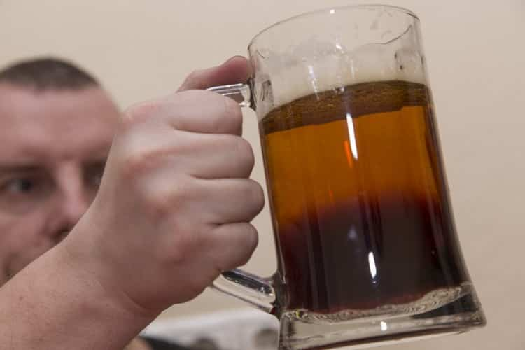? как сделать резаное пиво [методы налива] # фото и видео