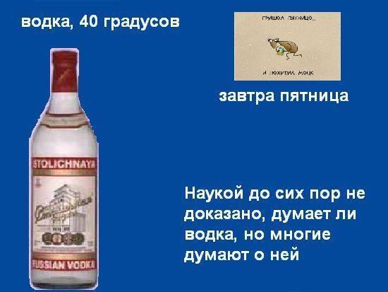Водка: крепость и процент алкоголя, сколько этилового спирта в водке