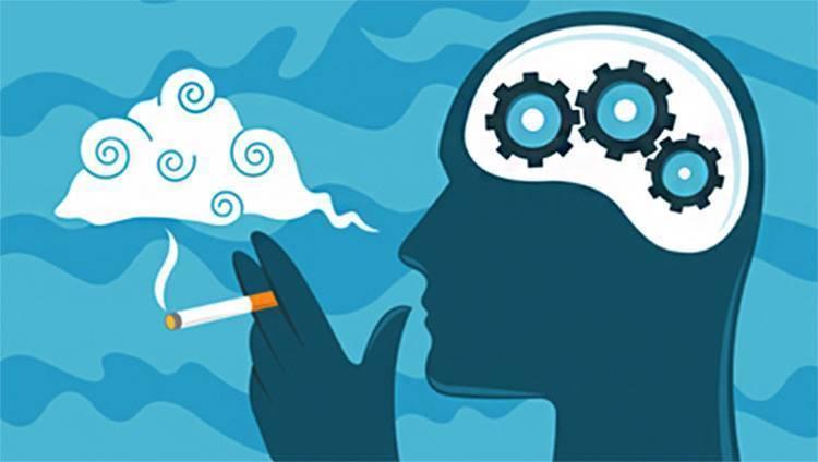 Влияние курения на головной мозг | vrednuga.ru
