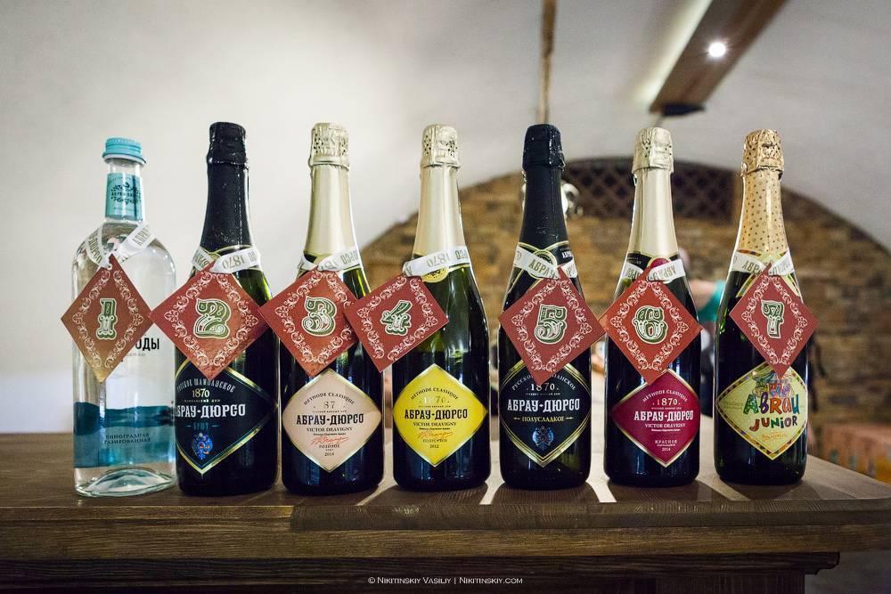 Винодельня абрау дюрсо, которая потом стала брендом советское шампанское - история создания