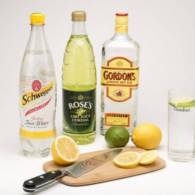 Рецепт приготовления водки с тоником