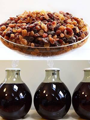 Как приготовить ароматное вино из изюма: 10 пошаговых рецептов с фото
