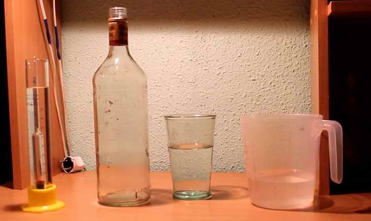 Как правильно развести спирт, чтобы получилась водка