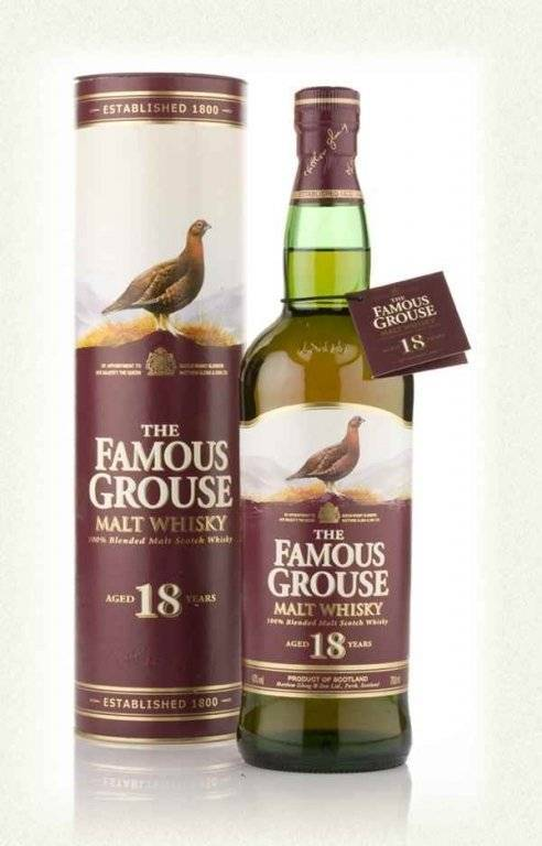 Виски «фэймос граус» (famous grouse): история, технология производства, виды