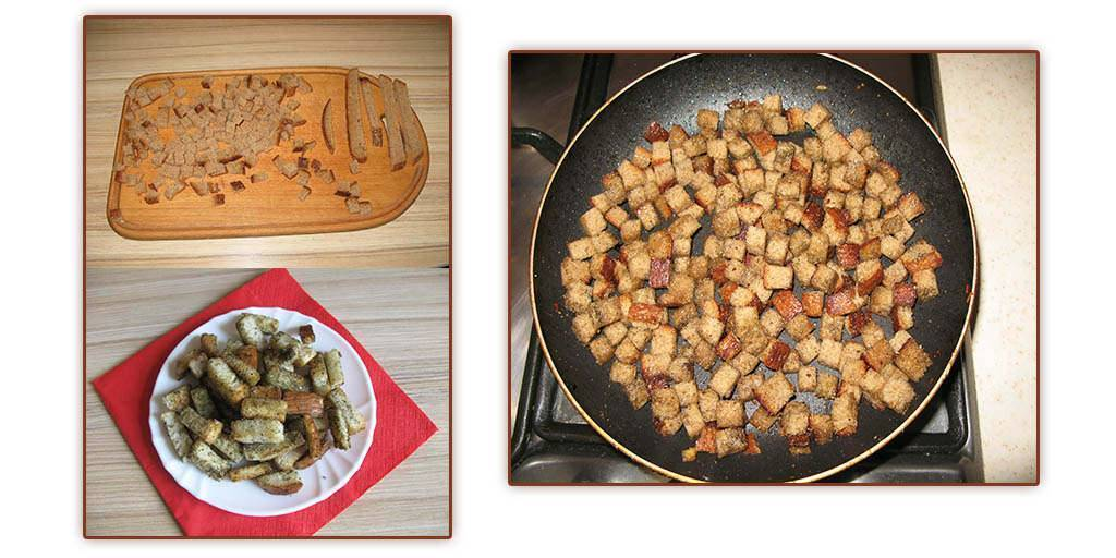 Рецепт сухариков с перцем и паприкой в мультиварке