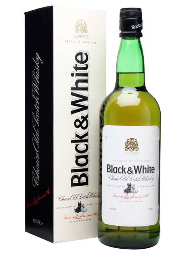 Black and white - виски шотландских кровей