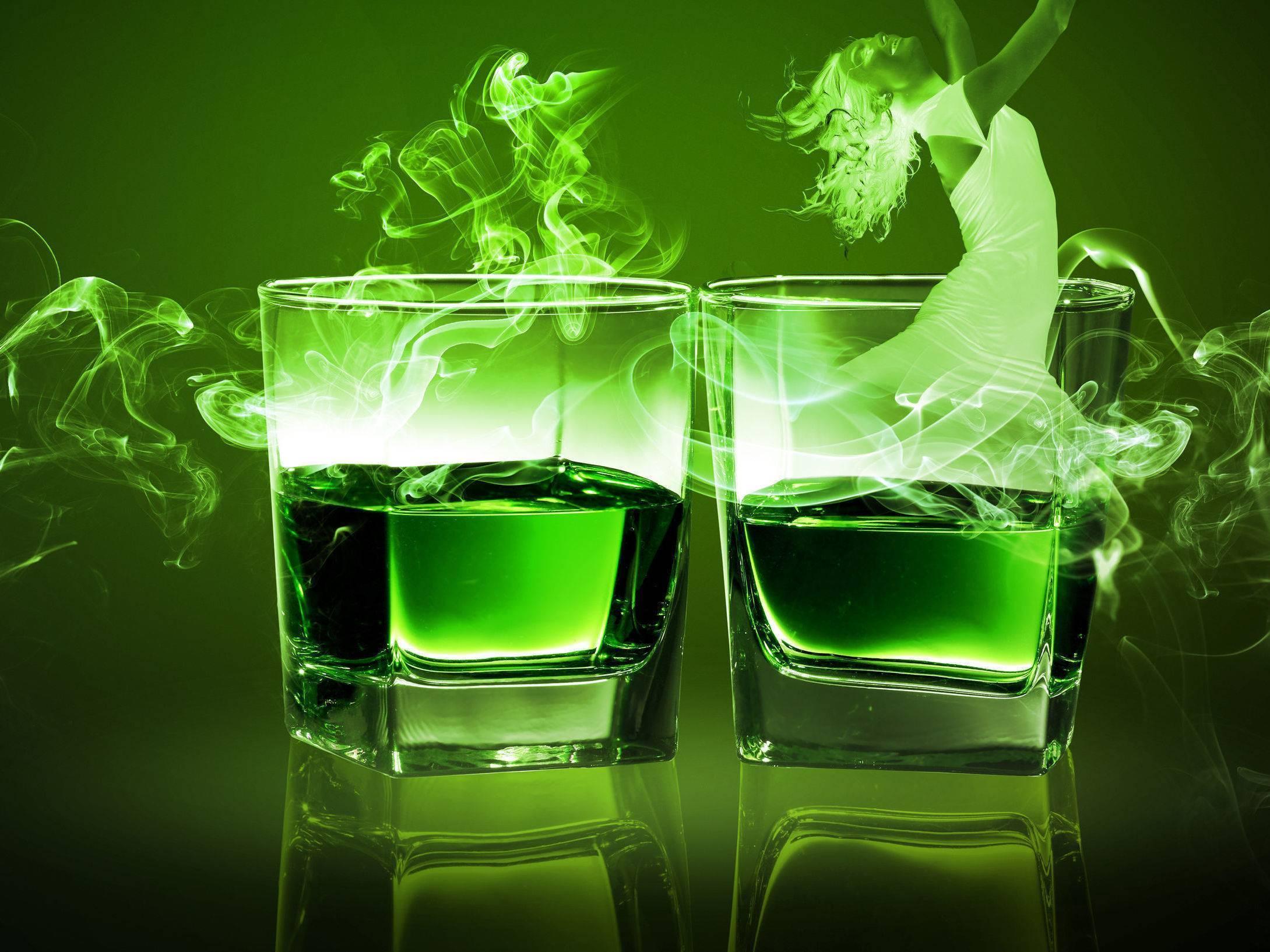 Состав и рецепт коктейля «зеленая фея»