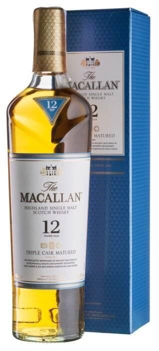 Виски макаллан (macallan): односолодовая гордость шотландии