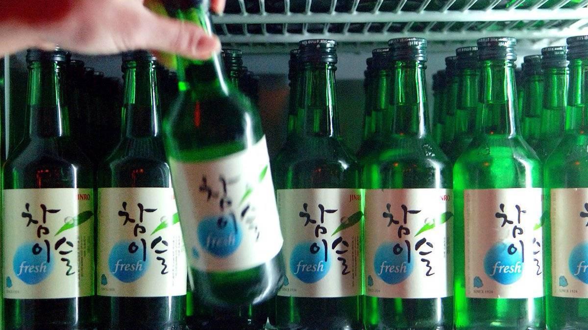 Корейский алкогольный напиток соджу