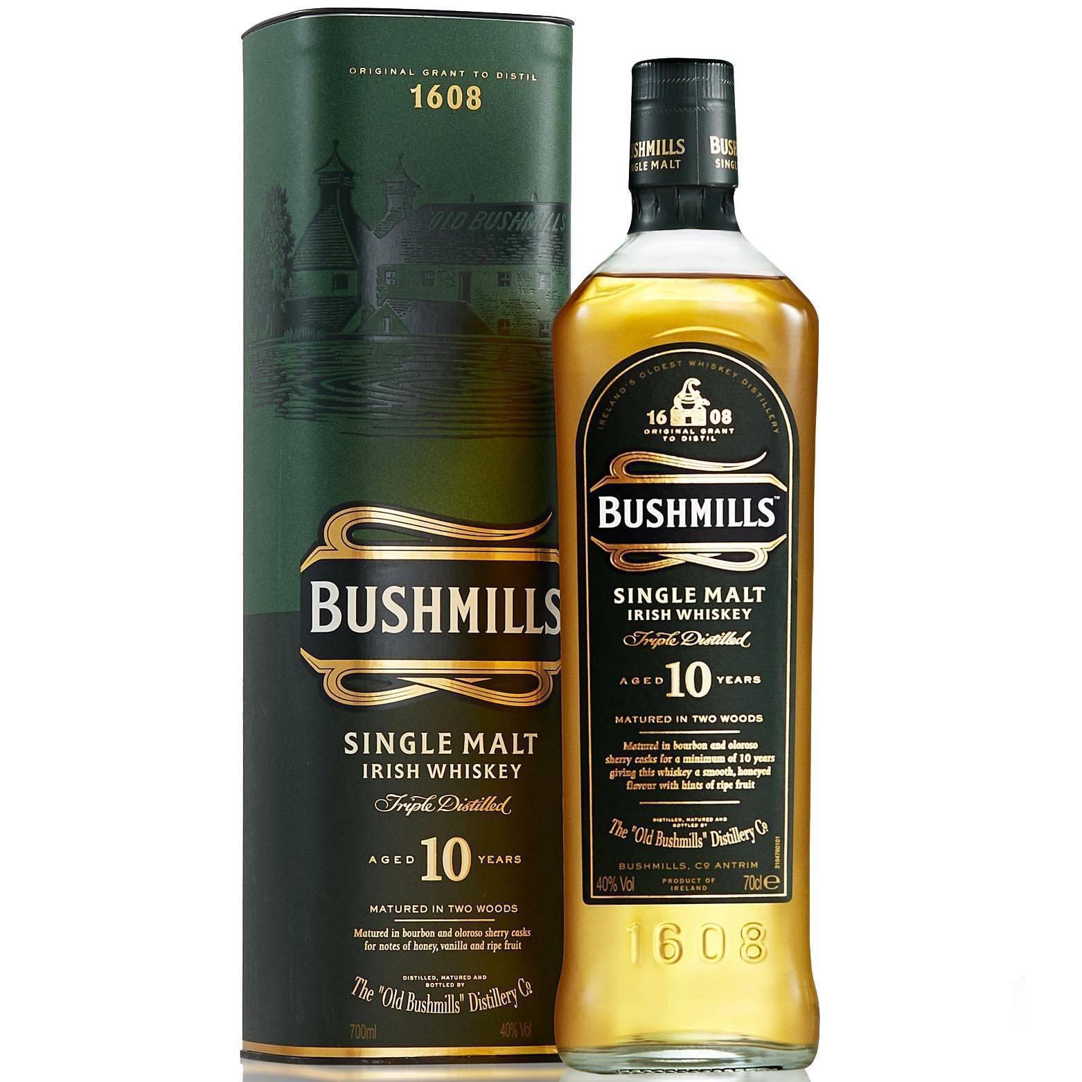 Виски bushmills (бушмилс) и его особенности