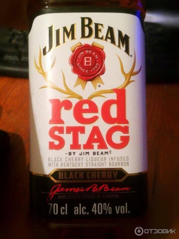 Обзор виски Jim Beam Red Stag