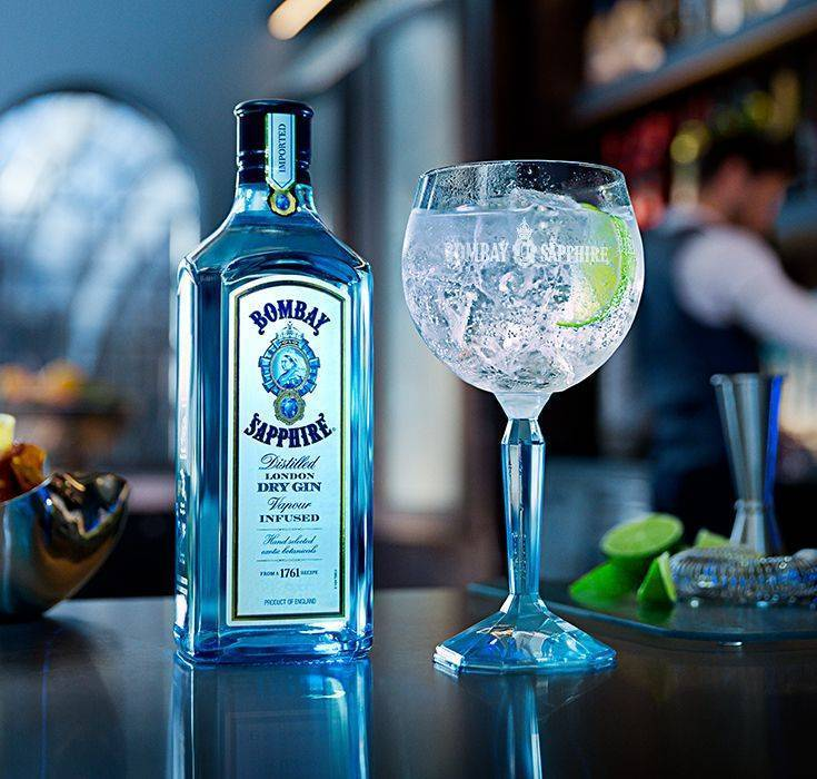 «бомбей сапфир» — как пить знаменитый джин