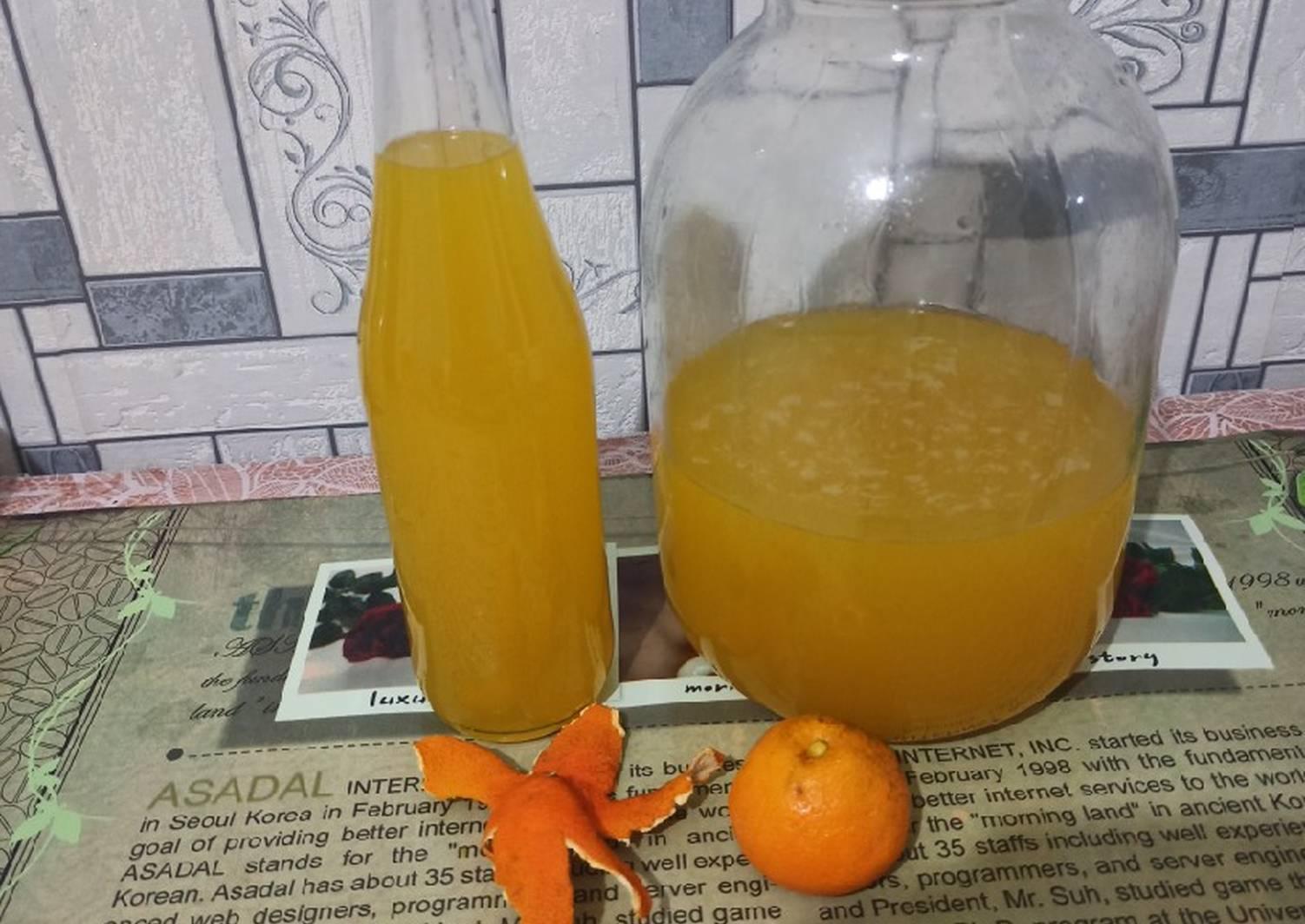 Мандариновая настойка на водке: рецепты и секреты приготовления