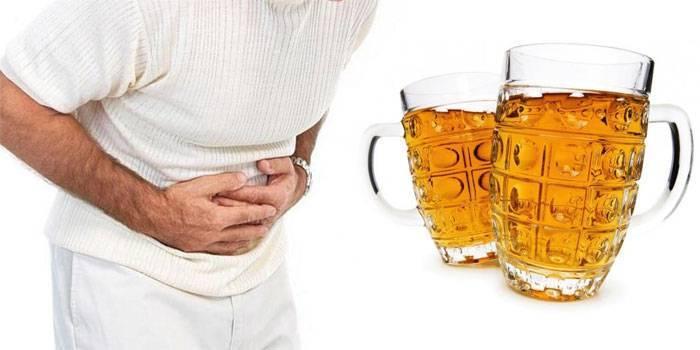 Понос после пива: почему, причины на утро, лечение, что делать