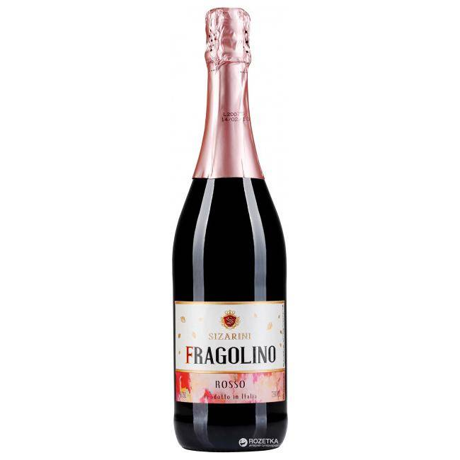 Вино фраголино клубничное фото