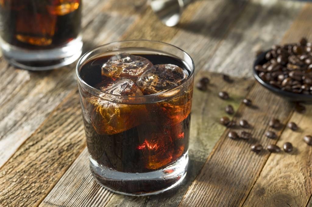 Черный русский коктейль: состав, рецепт
