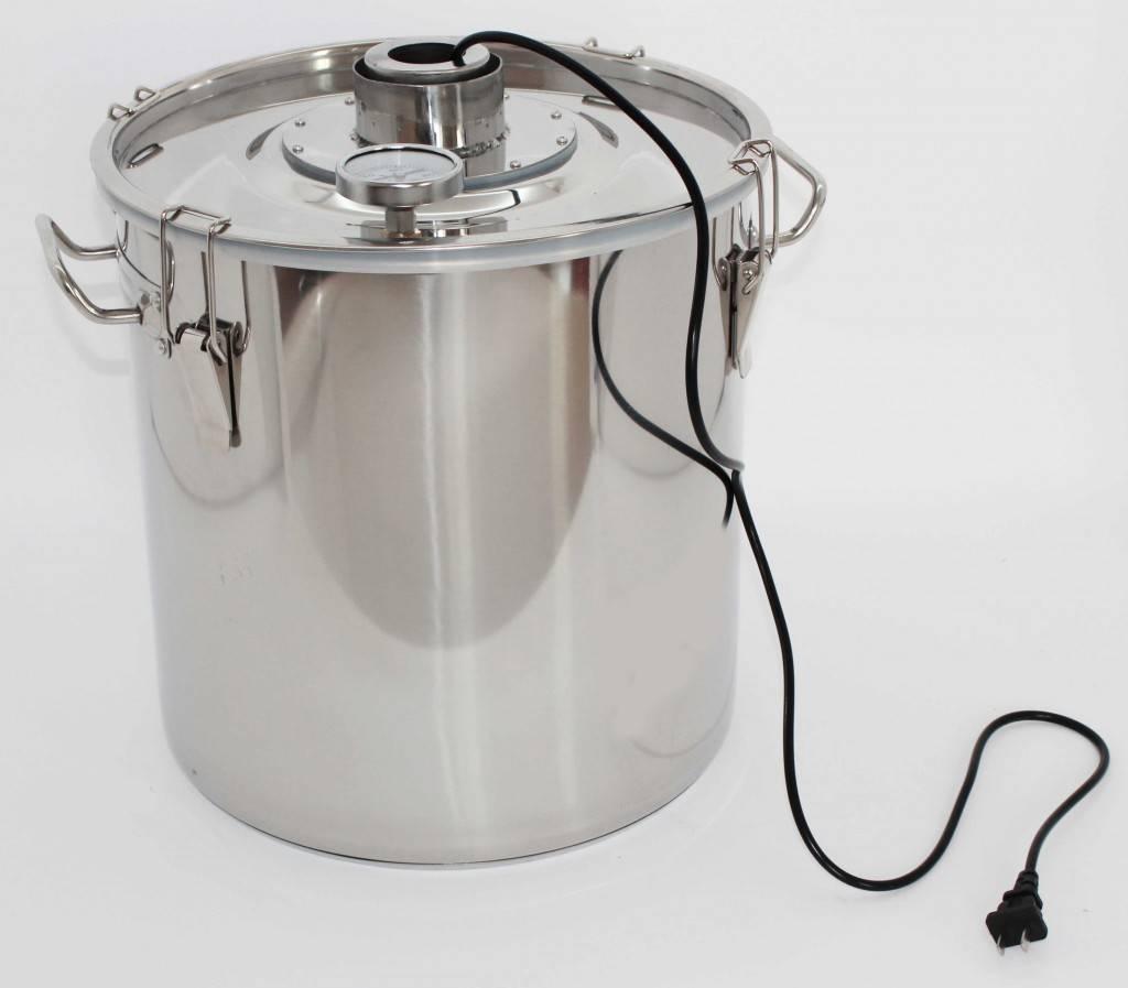 Как выбрать емкость для брожения браги чтобы сделать качественный самогон
