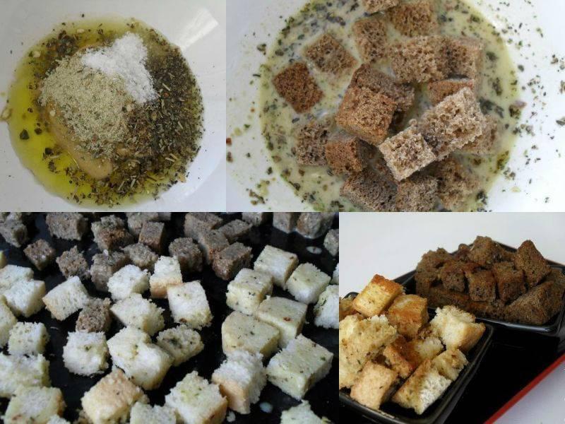 Делаем сухарики в домашних условиях: жарим на сковороде, запекаем в духовке и даже в микроволновке — хрустящие и вкусные