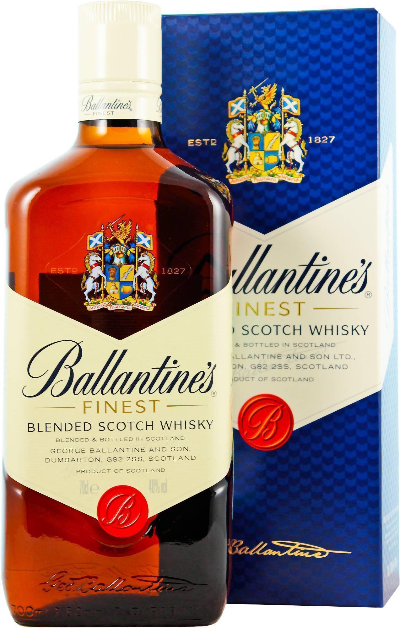 Виски баллантайнс от недорогих файнест и бразил до элитных 17 и 30 лет