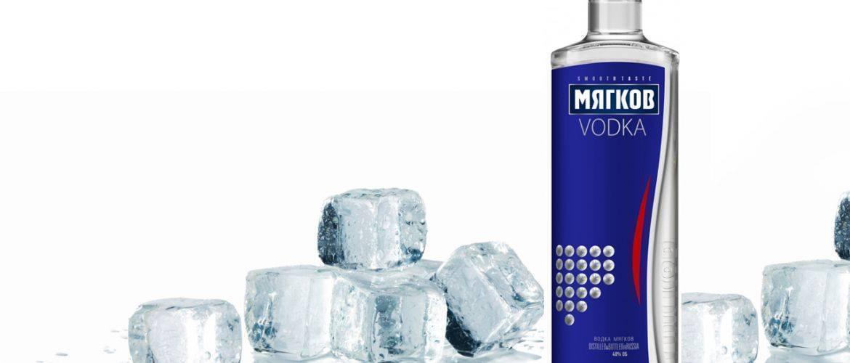 Водка водка мягков серебряная, 0.7 л - myagkov silver, 700 мл
