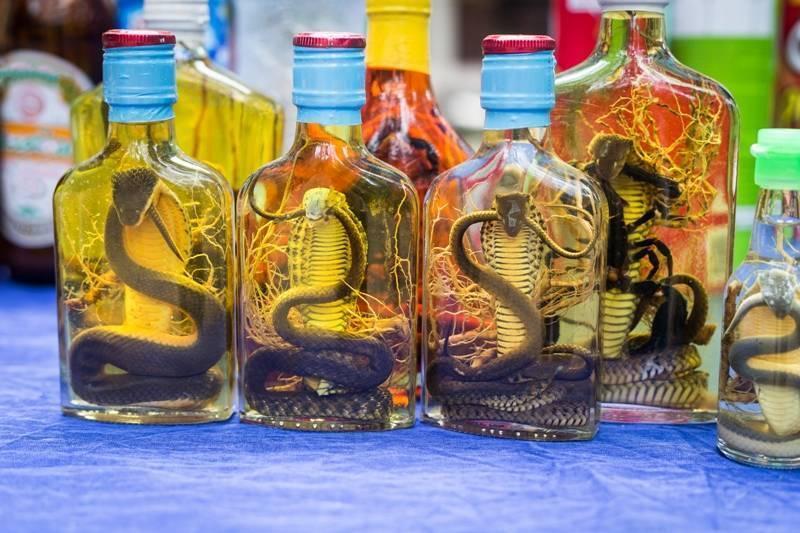 Тайский алкоголь, знакомимся — тайский виски, вино, пиво, настойки со змеями