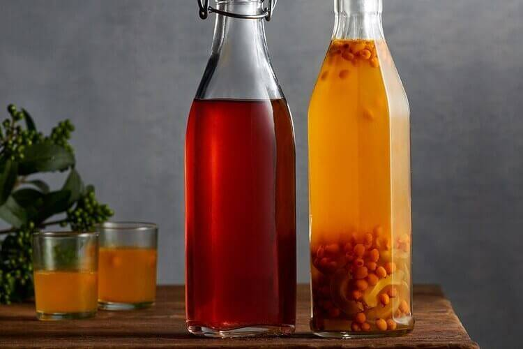 Настойка облепихи на водке на спирту на самогоне - скороспел
