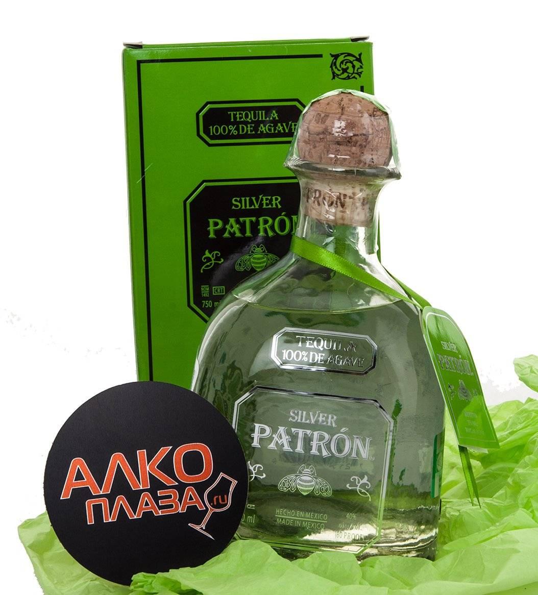 Tequila patron silver — история алкоголя