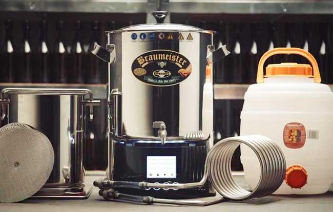 Домашняя мини пивоварня beermachine инструкция