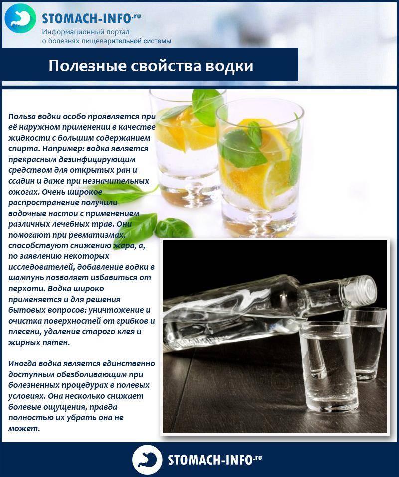 Водка с солью от поноса: отзывы, показания, выбор спиртного