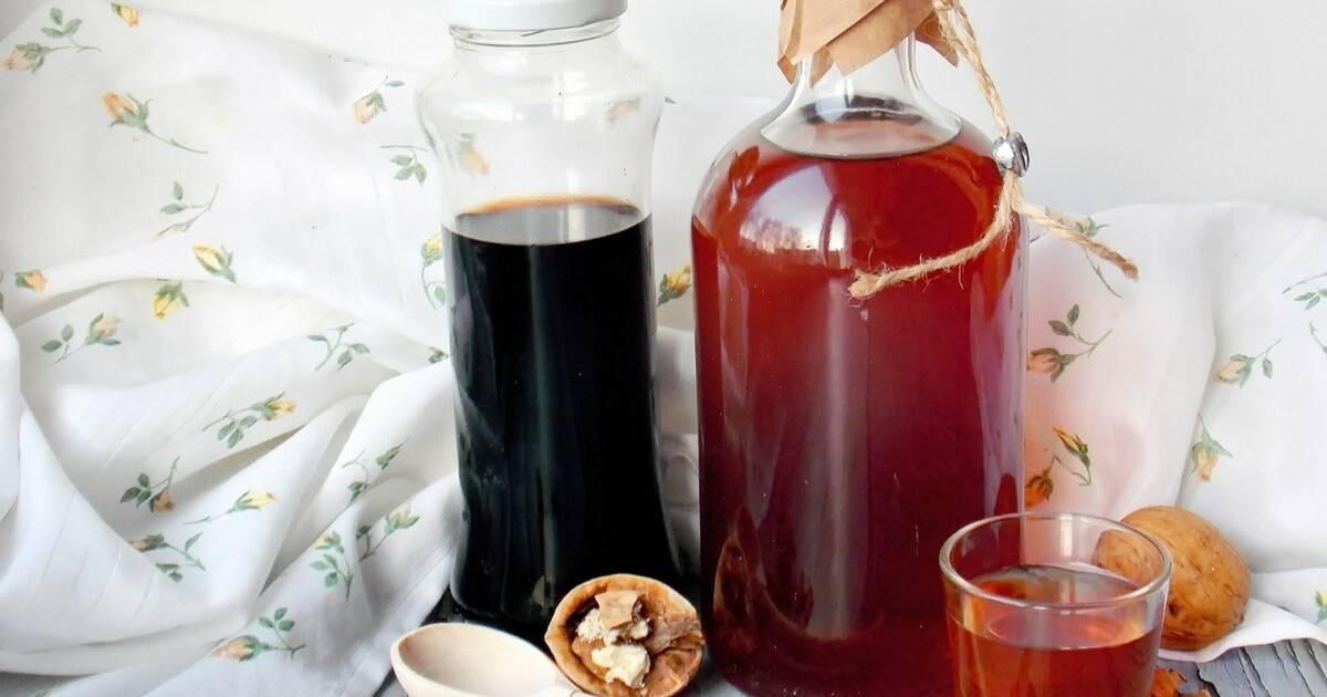 Как настоять самогон на ореховых перегородках: 6 рецептов |